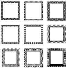 Square black frame Matte 520x539 Square Black Frame Vector Set 01 Free Download Getdrawingscom Black Frame Vector At Getdrawingscom Free For Personal Use Black