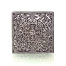 Antikas Lüftungsgitter Warmluftgitter Ofen Dekoration