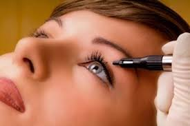 татуаж глаз стрелки перманентный макияж глаз