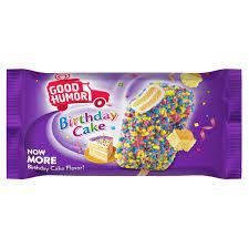 Good Humor Birthday Cake Bar Shop Sweetheart Ice Cream