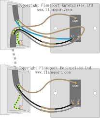 two way switched lighting circuits 1 two way switch connections new colours