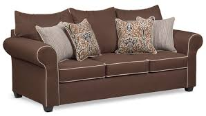 carla queen memory foam sleeper sofa chocolate s value city furniture daybeds ikea guest daybed target small day big lots frame sectionals mattress