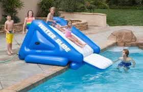 inflatable inground pool slide. Inflatable Water Slides For Above Ground Pools Inground Pool Slide O