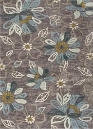 fl area rugs jaipur brio daisy chain handtufted pattern polyester gray blue rug shaped like flowers pink flower french country ideas bright shabby chic