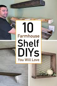 looking for farmhouse shelves that will add style and character to your home ok great