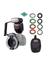 Godox Ring 48 Macro Ring Light Shop Yongnuo Professional Yn14ex Ii Macro Ring Flash Light Kit Black Online In Dubai Abu Dhabi And All Uae