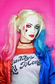 harley quinn squad makeup tutorial