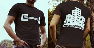 Cool Construction T Shirt Designs Jmi Construction T Shirt Wear Promo T Shirt Design 5