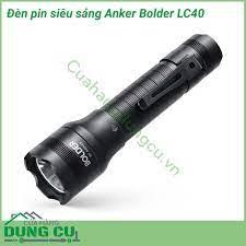 Đèn pin siêu sáng Anker Bolder LC40