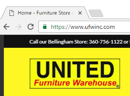 Peace of Mind Furniture Store United Furniture Warehouse in