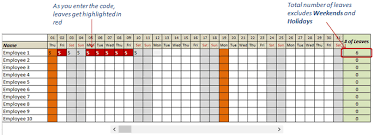 Vacation And Sick Time Tracking Excel Template Mythologen Info