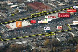 charlotte nc woodlawn marketplace retail space kimco realty woodlawn marketplace aerial