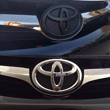 Before and after emblem black out on this 2015 Toyota Camry - Yelp