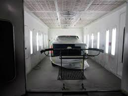 tx a neat and clean and professional refinishing department is located at paceline collision center abilene