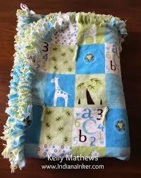 Easy baby blanket Indiana Inker: Handmade for Baby Bentley   Gift ... & Easy baby blanket Indiana Inker: Handmade for Baby Bentley Adamdwight.com