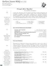 Free Resume Samples For Teachers Resume Sample For Teaching Job