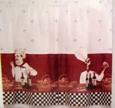Chef Kitchen Decor Sets Bistro Chef Kitchen Curtains A Cervantesofspain Kitchen Site