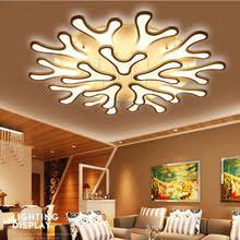 ironware lighting. antlers ironware acrylic ceiling lights for living room dining decor lighting modern led lamp light fixtures n
