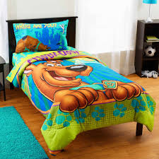scooby doo smiling twin bedding comforter com