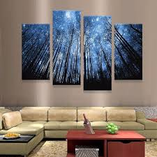 on 4 piece wall artwork with dream valley canvas wall art anjuna lane
