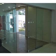 glass door. Frameless Glass Door
