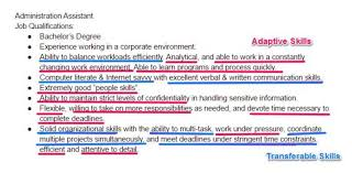 resume example for skills section 99 key skills for a resume best list of examples for all types of jobs