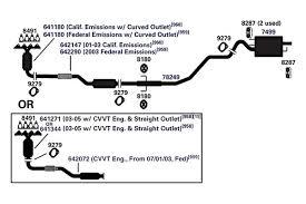 ap exhaust technologies� 608214 608 series universal fit round 99 grand am exhaust diagram at Grand Am Exhaust Diagram