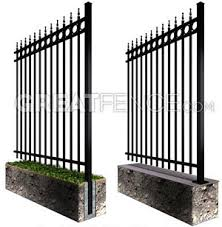 square metal fence post. Start End Aluminum Posts Diagram Square Metal Fence Post