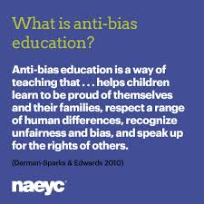 Anti Bias Education Topics Often Come From The Children