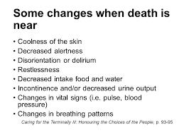 Breathing Patterns Near Death