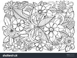 flower coloring book books all pages