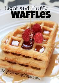 Light Fluffy Waffles Light And Fluffy Waffles