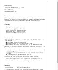 Hvac Resume 12 Templates Installer Techtrontechnologies Com