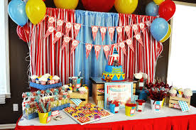 interior design fresh carnival themed birthday party decorations