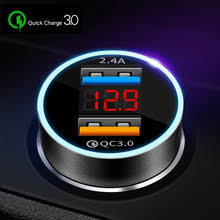<b>Quick</b> Charge 3.0 Dual USB <b>Car Charger</b> for iPhone X Xiaomi ...