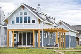 corrugated metal siding house