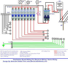 wiring of distribution board wiring diagram with dp mcb and sp Home Circuit Breaker Wiring Diagram wiring of distribution board wiring diagram with dp mcb and sp mcbs house circuit breaker wiring diagram