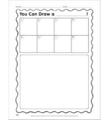 Directions Template Make Your Own Step By Step Drawing Template Follow The