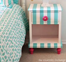 creative images furniture. Tutorial For Creatively Painting Children\u0027s Furniture. Nightstand Painted With Velvet Finishes Paint {The Creativity Creative Images Furniture