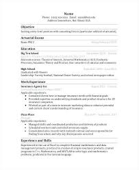 Actuary Cover Letter Actuary Resume Resume Actuarial Analyst Resume
