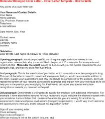 Molecular Biologist Cover Letter Please I Need Help Writing A Cover Letter And Cv For An Advertised Job