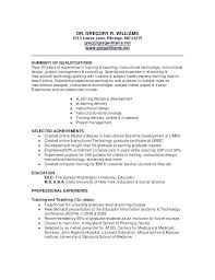 Instructional Designer Resume Interesting Entry Level Business Analyst Resume Examples Of Resumes