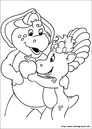 Small Picture Barney and Friends coloring pages on Coloring Bookinfo