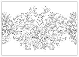 Johanna Basford Enchanted Forest Coloring For
