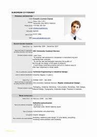 Normal Resume Format Download Or 12 Elegant Resume Free Download