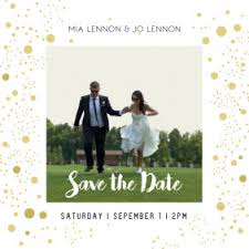 Save The Date Cards Templates Save The Date Card For Your Wedding Postermywall