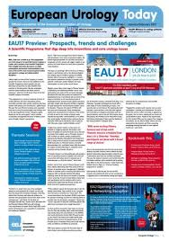 Baus Frequency Volume Chart European Urology Today January February 2017 By European