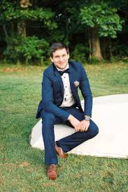 Tuxedo To Match Light Blue Dress 20 Ways To Wear Blue Suits With Brown Shoes Ideas For Men