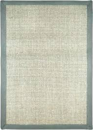 custom border area rugs gray 8x10 sisal rug with navy borders furniture magnificent bo