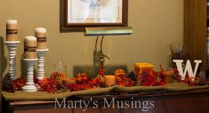 decorating your living room for fall